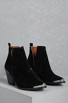 Forever 21 FOREVER 21+ Western Cap Faux Suede Boots