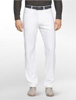 Calvin Klein Straight Fit Chambray Linen Pants