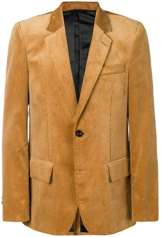 Golden Goose corduroy two-button blazer