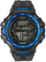 Sekonda Men's Digital Black Resin Strap Watch