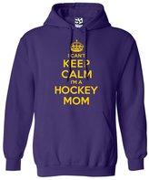 Shirt Boss Unisex Hockey Mom HOODIE - I Can't Keep Calm I'm a