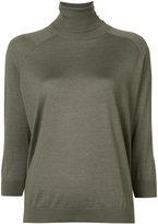 Brunello Cucinelli turtleneck jumper - women - Silk/Cashmere - S