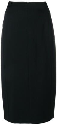 Joseph Plain Pencil Skirt