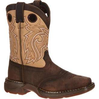 Durango Unisex Lil Little Kid Saddle Western Boot Mid Calf