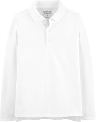 Osh Kosh OshKosh Girls' Toddler Long Sleeve Uniform Polo Shirt