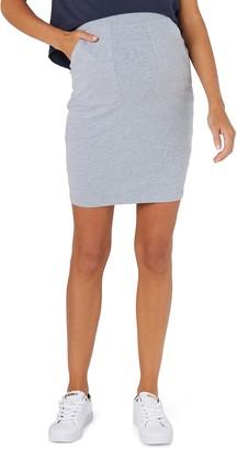 LEGOE. Zephyr Ribbed Maternity Skirt