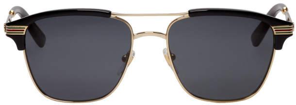 02d92f8730 Gucci Retro Sunglasses Men - ShopStyle