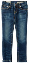 Ralph Lauren Girls 2-6x Whiskered Five-Pocket Jeans