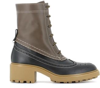 Chloé Lace-up Boot Franne