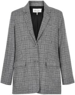 And Less - Black Charloti Blazer - 34 - Grey/Black