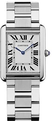 Cartier Tank Solo Large Stainless Steel Bracelet Watch