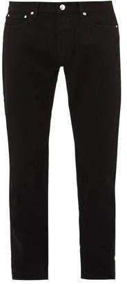 A.P.C. Petit Standard Slim-leg Jeans - Mens - Black