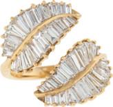 Anita Ko Diamond Baguette Palm Leaf Ring