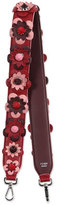 Fendi Flower & Stud Leather Strap, Multicolor