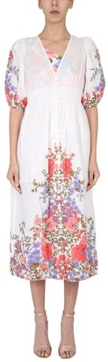 Zimmermann Poppy Shirred Waist Dress