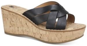 White Mountain Samwell Wedge Sandals Women's Shoes