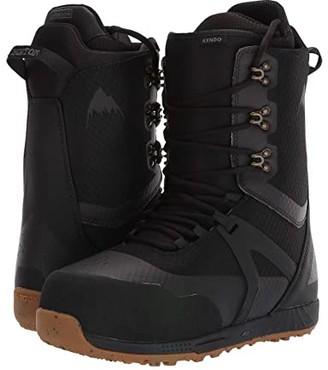 Burton Kendo (Black/Gum) Men's Boots