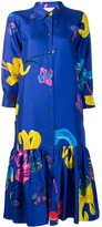 Thumbnail for your product : La DoubleJ Printed Shirt Dress
