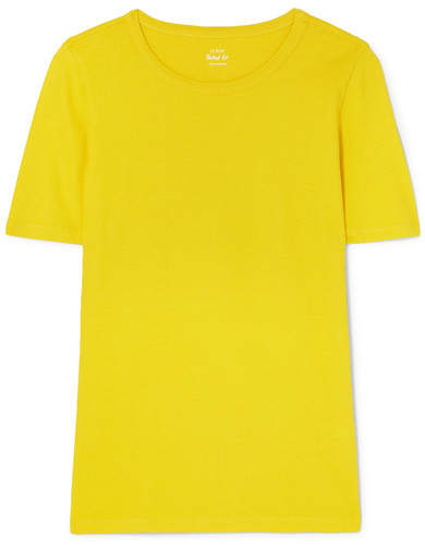J.Crew The Perfect Fit Cotton-jersey T-shirt - Yellow