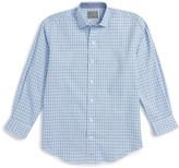 Thomas Dean Plaid Shirt (Big Boys)