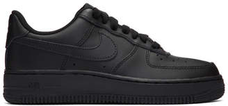 Nike Black Air Force 1 Sneakers