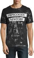 PRPS Men's Print Cotton T-Shirt