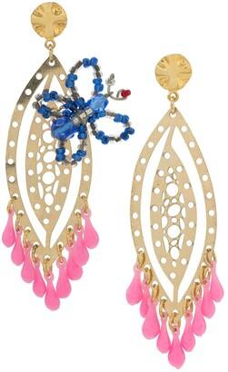 AMIR SLAMA Butterfly Earrings