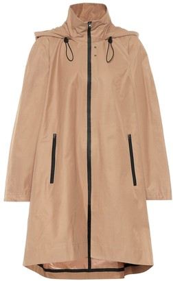 Low Classic Coated cotton-blend raincoat
