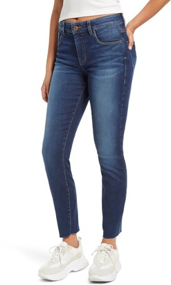 STS Blue Ellie Raw Hem High Waist Skinny Jeans