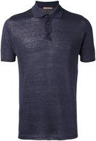 Nuur knitted polo shirt - men - Linen/Flax - 54