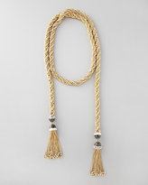 Long Tassel-End Necklace, 54