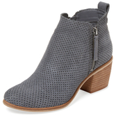 Dolce Vita Sable Perforated Leather Bootie