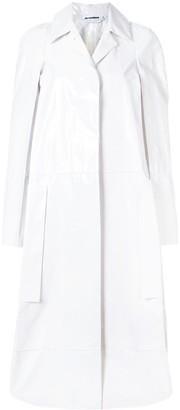 Jil Sander Patent Long Coat