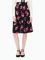 Kate Spade Encore rose midi skirt