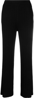 Sminfinity Ribbed-Knit Slip-On Trousers