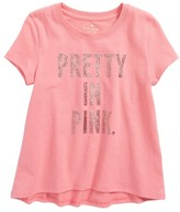 Kate Spade Girl's Pretty In Pink Graphic Tee