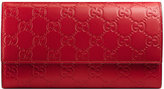 Gucci Signature continental wallet - women - Leather - One Size