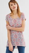 Esprit Delicate linen blend T-shirt