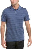 Original Penguin Jacquard Stripe Heritage Slim Fit Polo