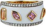 Ayva Jewelry 18k Yellow Gold Calm Agate Ring