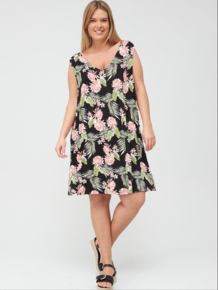 V By Very Curve Swing Dress