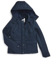 Burberry Girl's 'Nealsbrooke' Quilted Jacket