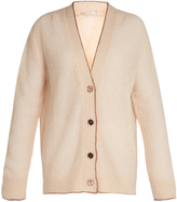 Christopher Kane Lofty contrast-trimmed cardigan
