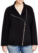 Marina Rinaldi Plus Nadir Asymmetric Zip Jacket