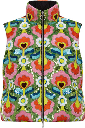 MONCLER GENIUS Exclusive 8 Moncler Richard Quinn Liza Floral Technical