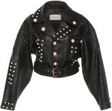 Rodarte Metallic Leather Jacket