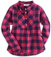 Vineyard Vines Girls' Buffalo-Check Shirt