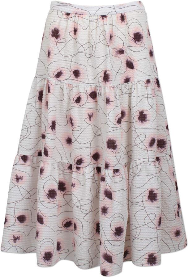 Baum und Pferdgarten Shai Printed Midi Skirt