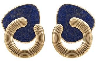 Gas Bijoux Mother of pearl Anemone earrings