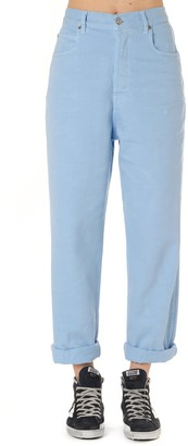 Golden Goose Kim Jeans In Light Blue Denim